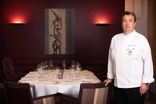 Portrait de chef cuisinier