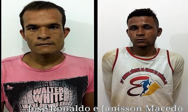 Presos, acusados de assalto nas dunas da Praia do Saco confessam crime