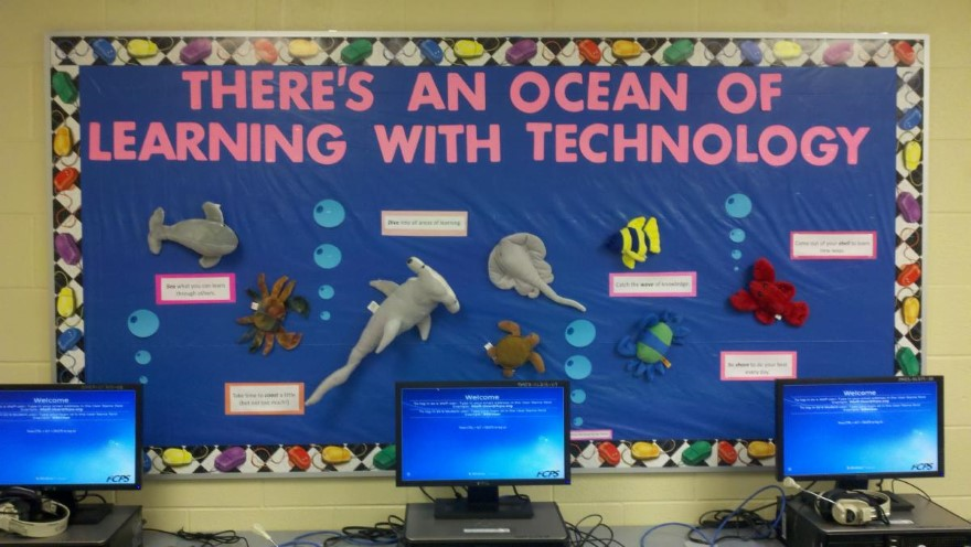 Computer Lab Decoration Pics ~ To express bulletin board system grandfather of