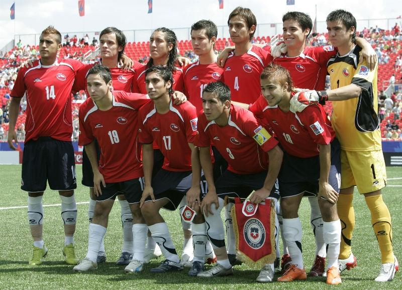 Formación de Chile ante Austria, Copa del Mundo Sub-20 Canadá 2007, 22 de julio