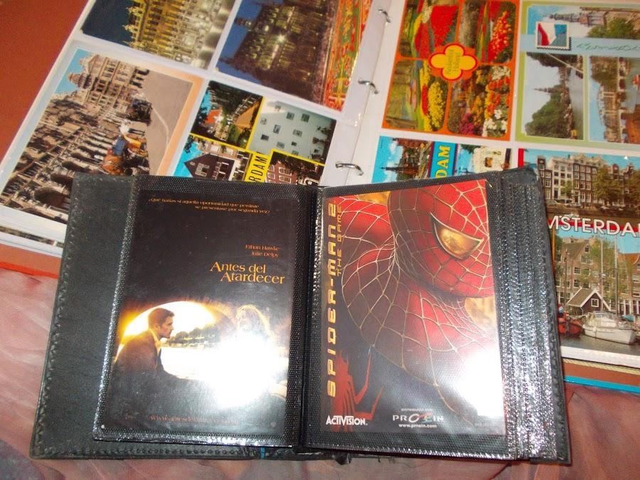 Es realmente entretenido ver colecciones de postales.