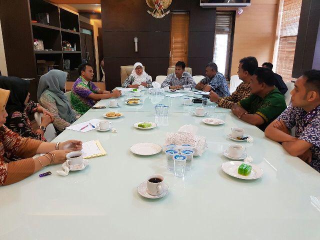 Pemko Tangerang Studi Banding Pengelolaan Keuangan ke Banda Aceh
