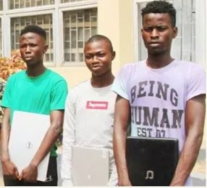 Police Arrested 3 Yahoo Boys, Makes Shocking Confession
