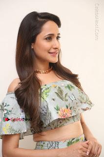 Actress Pragya Jaiswal Stills in Floral Dress at turodu Interview  0028.JPG