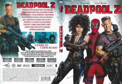 Filme Deadpool 2 DVD Capa
