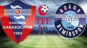 Adana Demirspor - Kardemir KarabüksporCanli Maç İzle 18 Ocak 2019