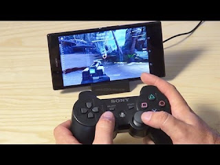 main game android dengan stik cotroller Ps3