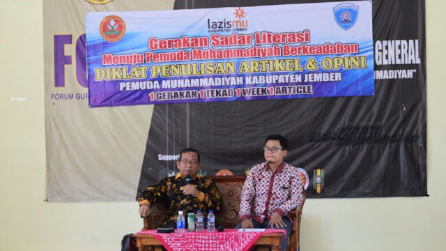 Pemuda Muhammadiyah Jember Gerakkan Literasi Jember