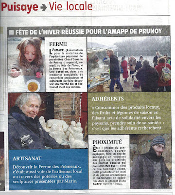 Photo de l'article du 23 janvier 2017, L'Yonne Républicaine.