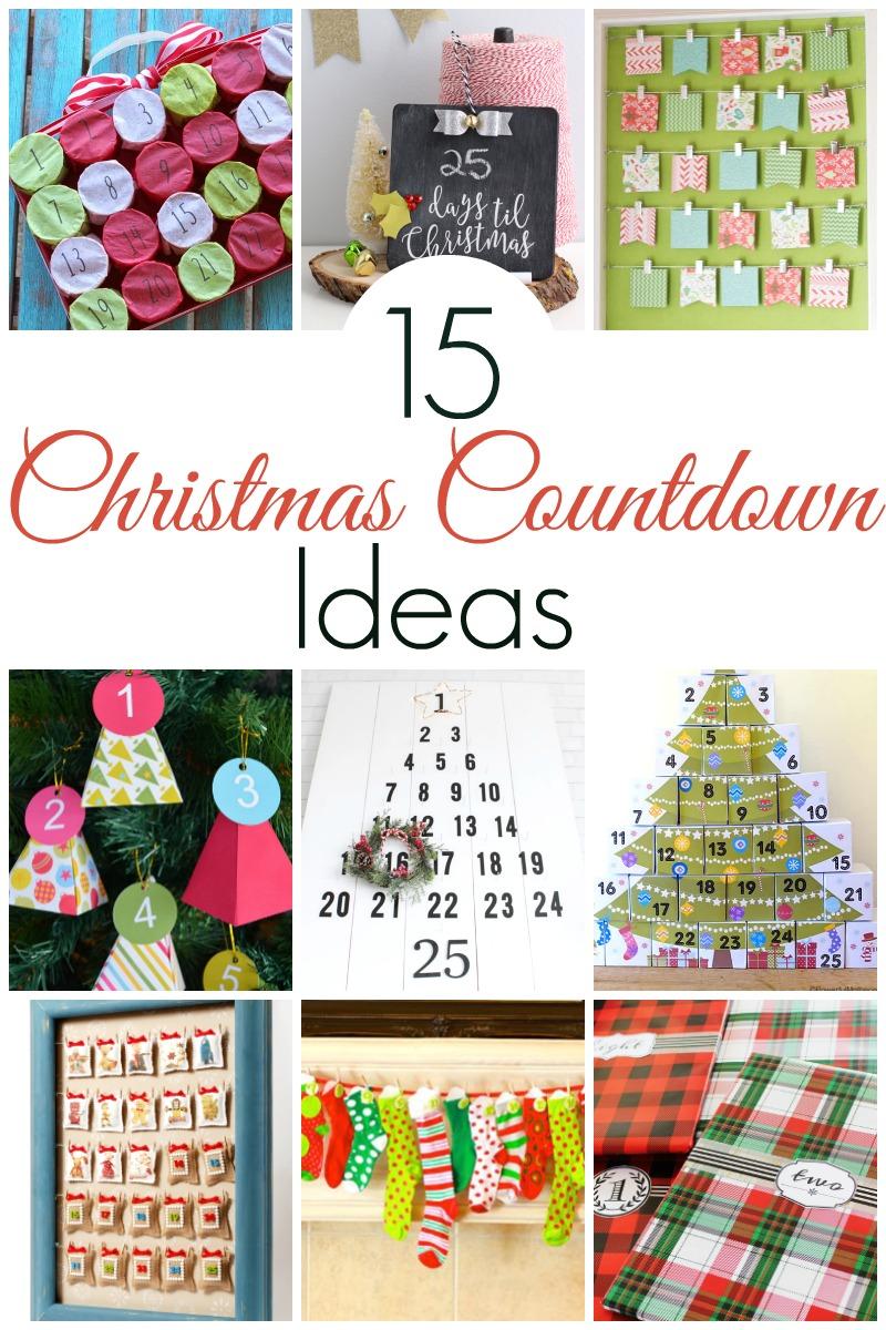 Christmas Countdown Ideas.Christmas Tree Lane Christmas Countdown Ideas