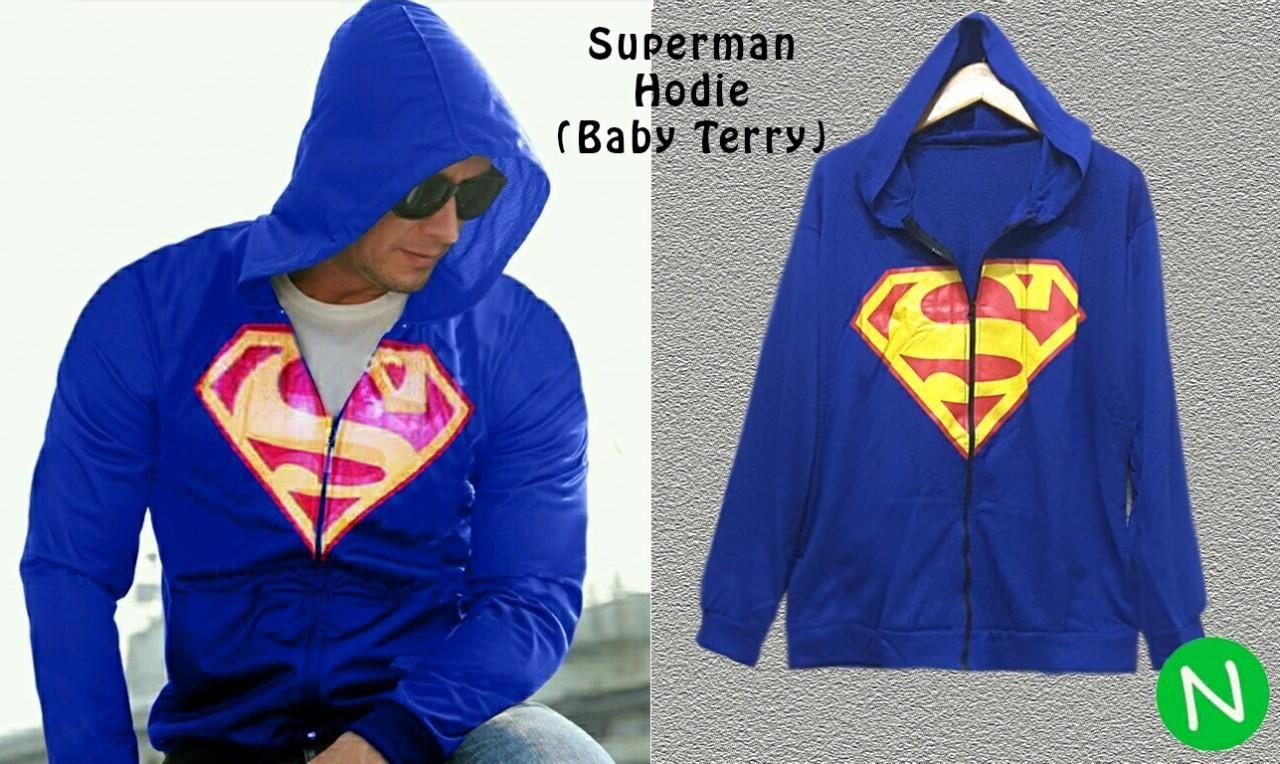 Jual Baju Laki-Laki Jaket Superman Hoodie - 12783