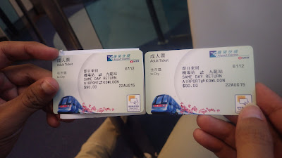 7 Jam Transit di Hong Kong