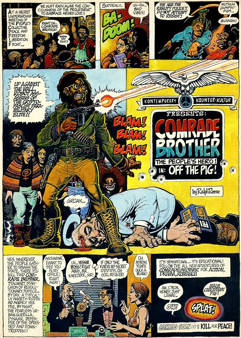 The Voice Of ODD!: Barry Windsor Smith
