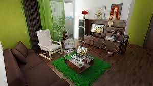 decorar sala con verde