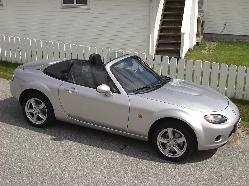 new car mazda mx 5 nc 2006 1 8. Black Bedroom Furniture Sets. Home Design Ideas