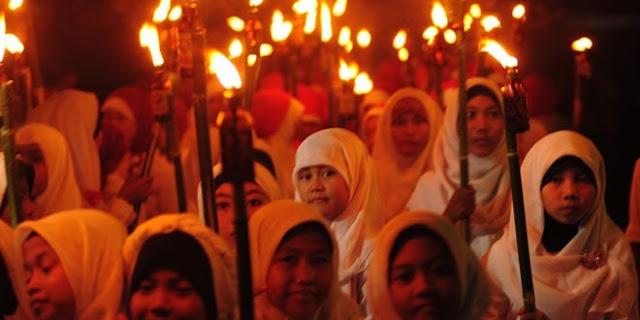 Pawai Obor Sambut Tahun Baru Hijriyah, 1 Muharram