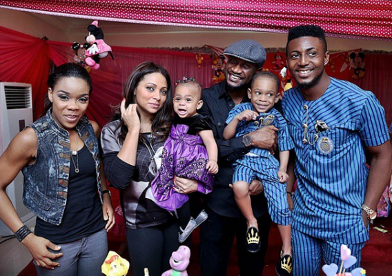 Photos from KaffyDancequeen's daughter's First big birthday  attended by their friends including Peter and Lola Okoye, Smash & Vast of Bracket and others