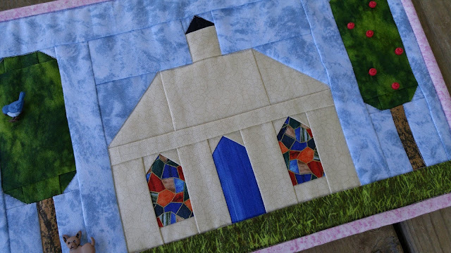 row by row experience church quilt