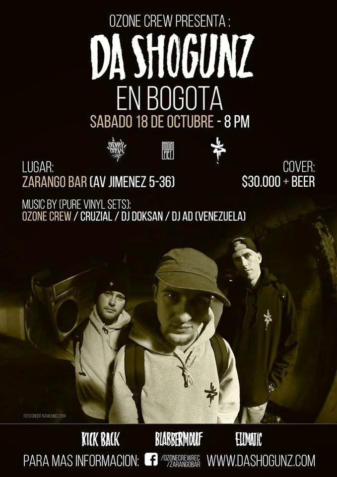 Da Shogunz en Bogotá