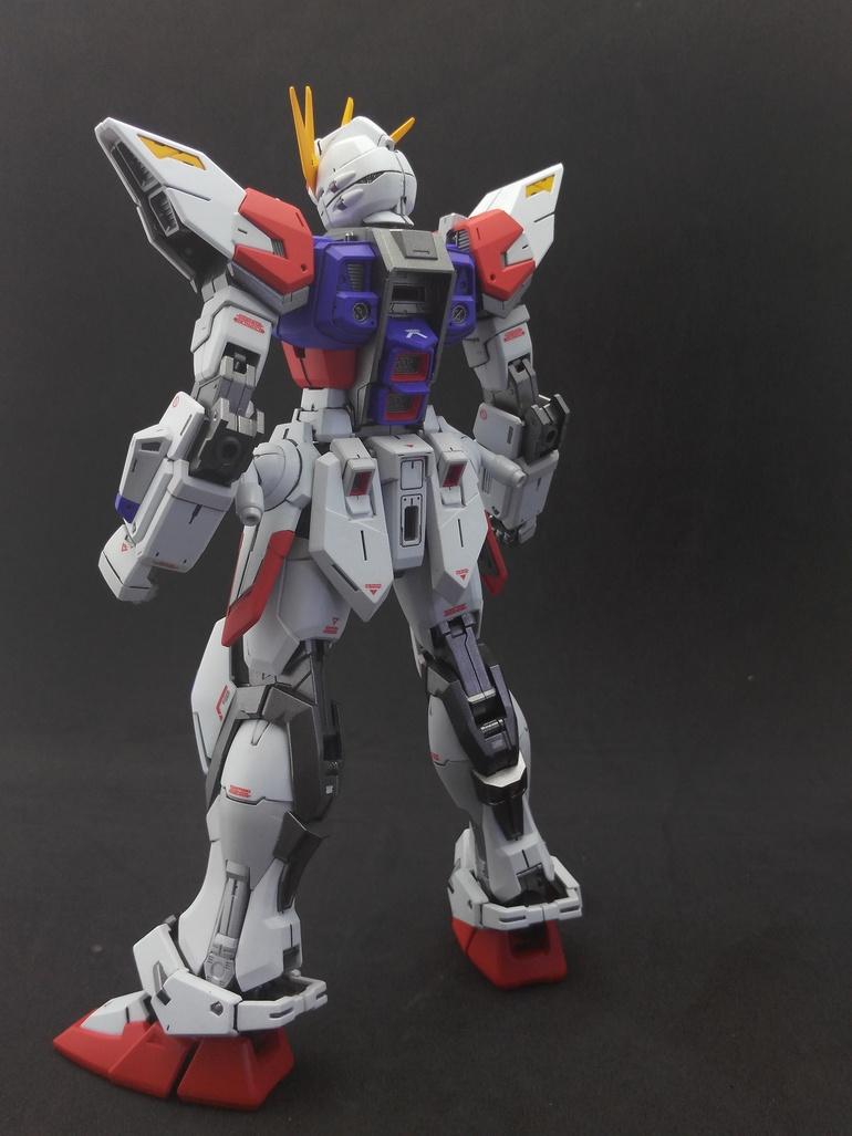 Painted Build: MG 1/100 Build Strike Gundam Full Package