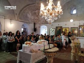 Γιορτάζει ο ιστορικός Ι.Ν. των Αγίων Κωνσταντίνου και Ελένης στο Άργος