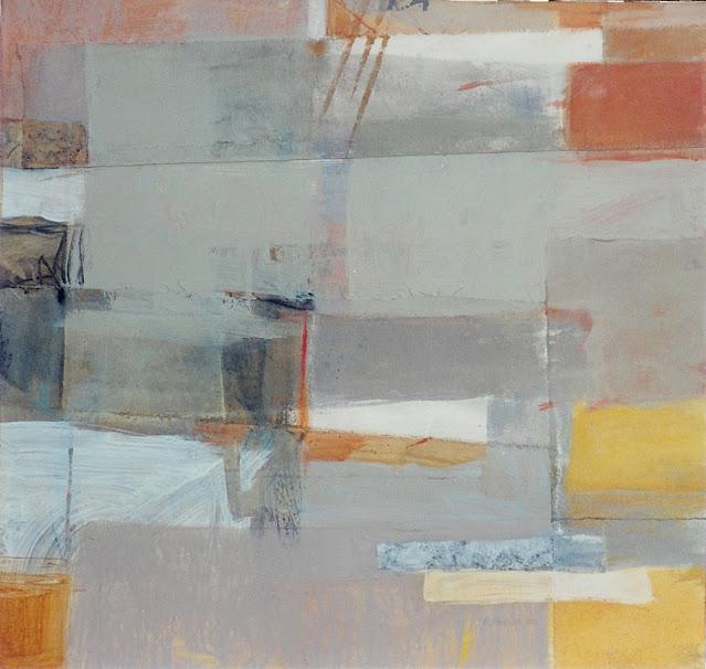 SP 6865 - Abstract Painting - Rosemary Marchetta