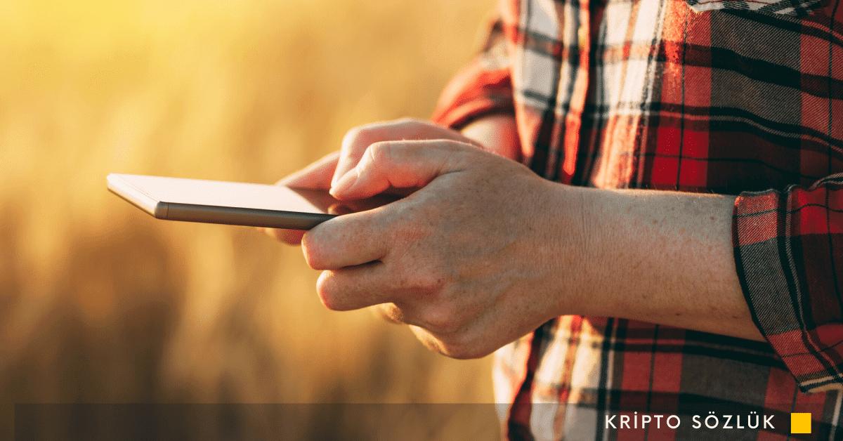 Hintli Çiftçiler Blockchain Kullanacak