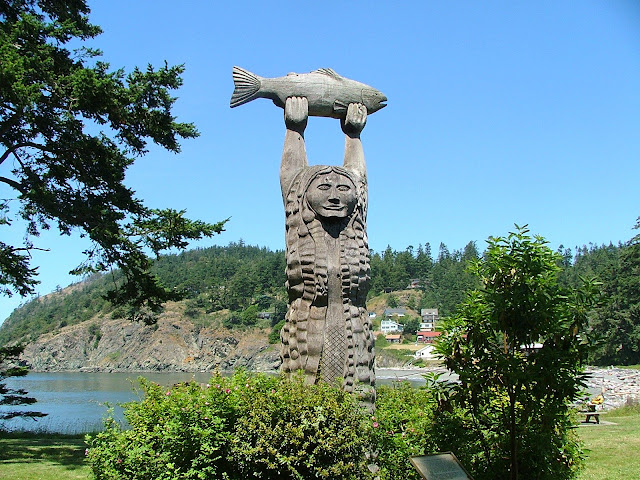 Maiden of Deception Pass at Sharpe cove