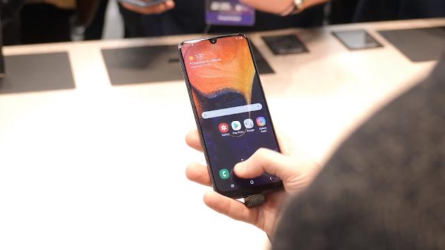 سعر ومواصفات هاتف Galaxy A50 الجديد