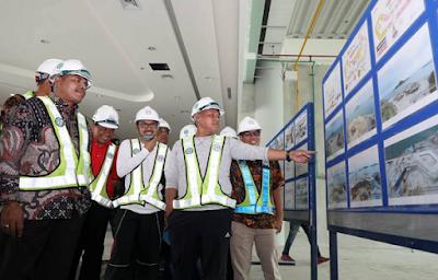 Nanang Ermanto Tinjau Pembangunan Dermaga Eksekutif Pelabuhan Bakauheni
