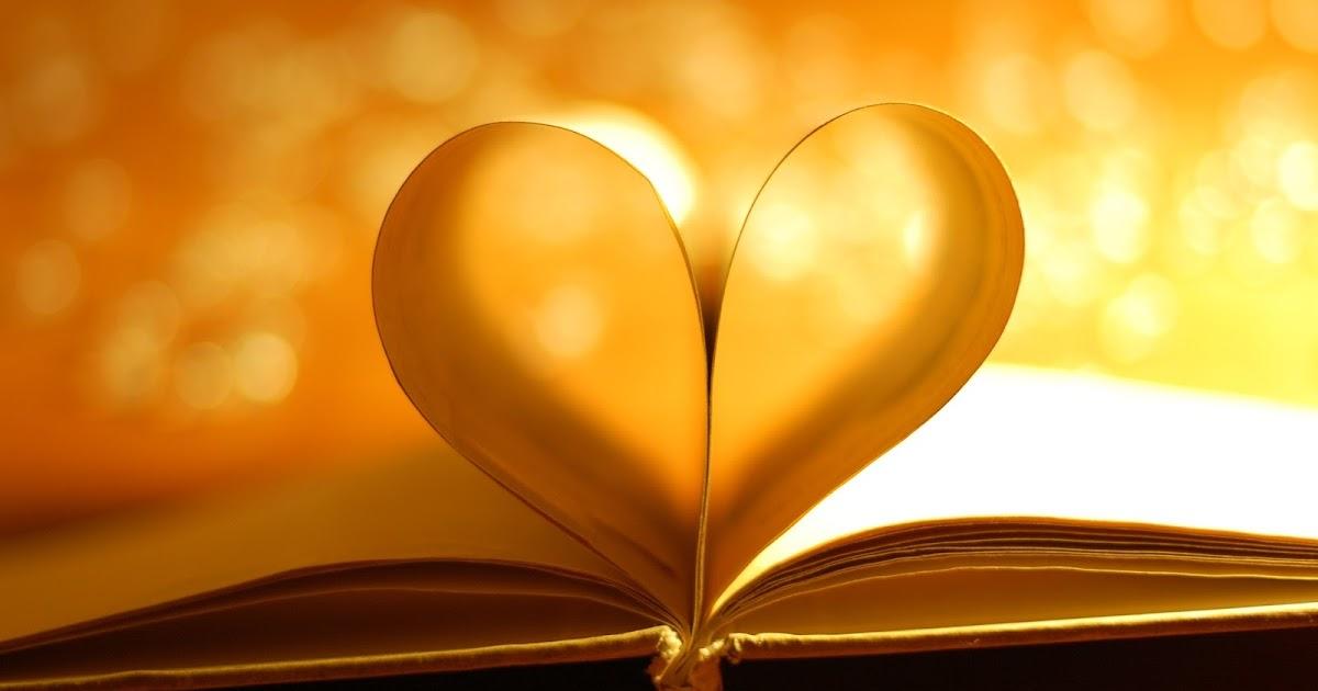 Nice Sad Girl Wallpaper Book Pages Heart Light Photo Hd Wallpaper Love