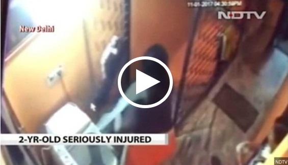 Video : bergaduh dengan mak mertua, Menantu humban anak sendiri di tangga