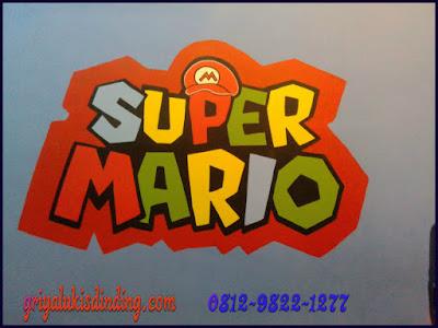 Lukis Dinding Super Mario