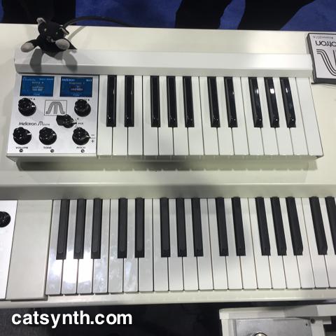 MATRIXSYNTH: Tiny Mellotron Micro & New Metsonix Modules in