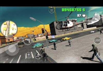 Shooter with nice graphics c dynamic gunfights Yakuza Mad City Crime v1.03 Unlimited Money Apk + Data