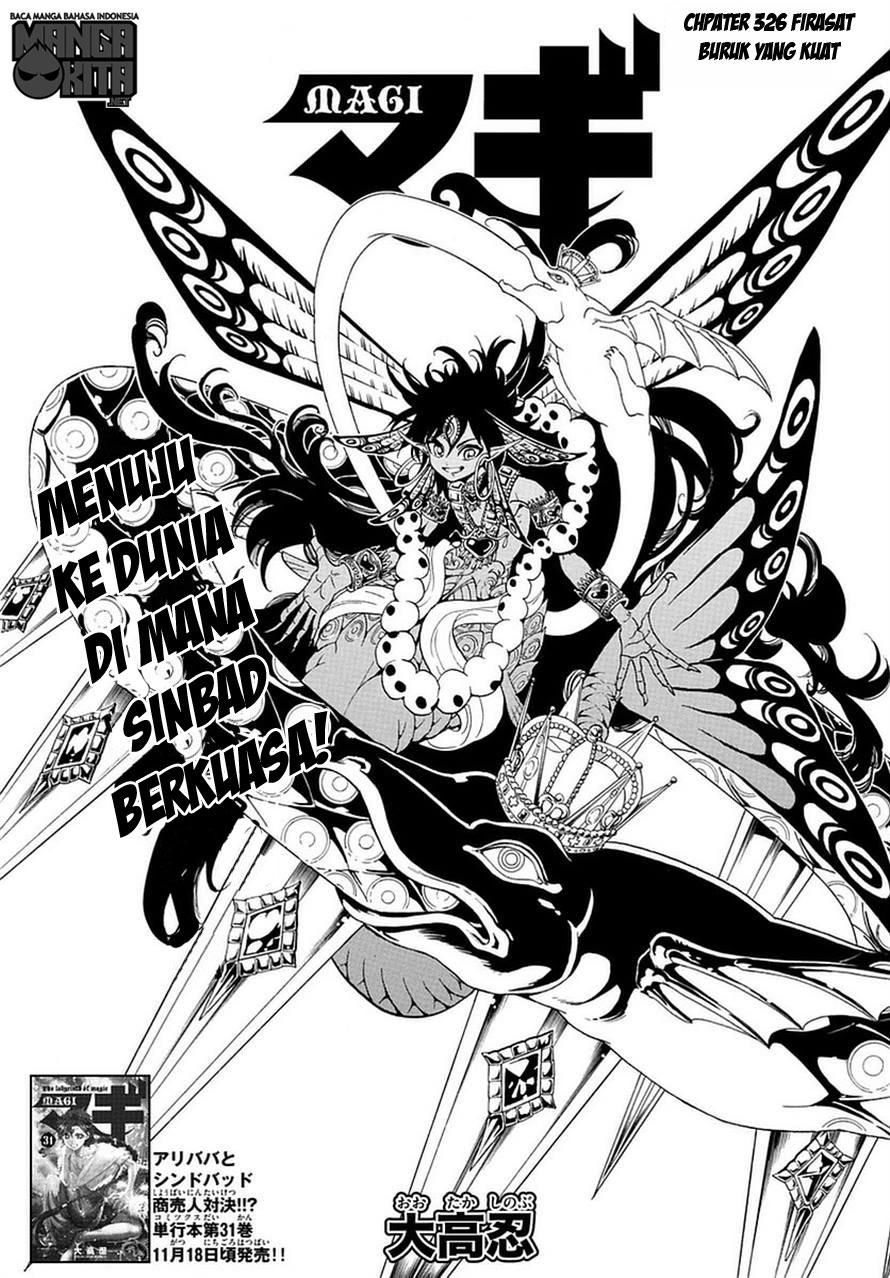 Magi Chapter 326-1
