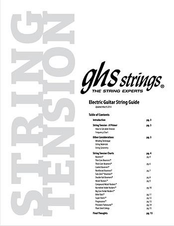 Electric Guitar String Tension Chart : news ghs strings launch updated electric guitar tension charts ~ Hamham.info Haus und Dekorationen