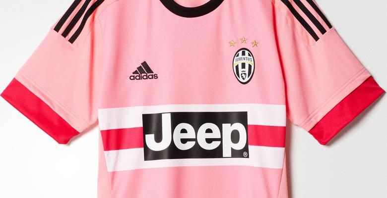 pink adidas juventus 15 16 away kit released footy headlines footy headlines