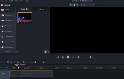 Hướng dẫn sửa lỗi Camtasia 9: không hiển thị video trong Canvas
