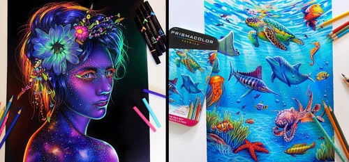 00-Glowing-Colorful-Drawings-Morgan-Davidson-www-designstack-co