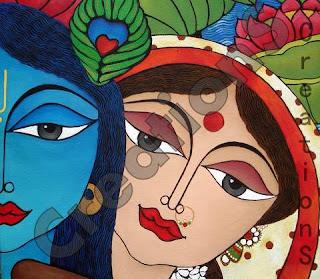 Krishnashtami Painting
