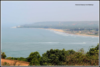 view from Chapora Fort, North Goa