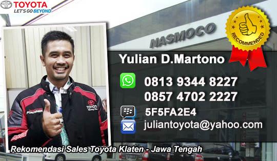 Toyota Klaten Jawa Tengah
