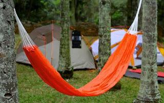 Na programação: oficina de acampamento com rede. Foto: acervo Femesp