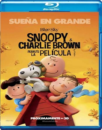 Snoopy and Charlie Brown The Peanuts Movie 1080p Latino