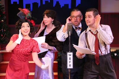 CT Theater Review: It's a Wonderful Life Radio Play -- Music Theatre of CT