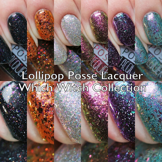 Lollipop Posse Lacquer Which Witch Collection Swatches and Review
