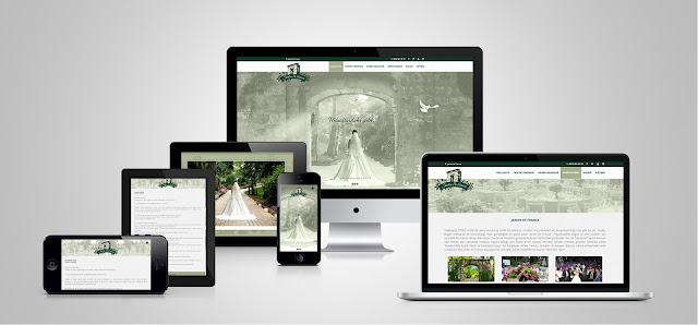 Jardin de france responsive web design