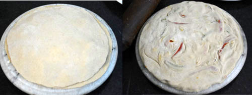 Multigrain Pizza Paratha recipe