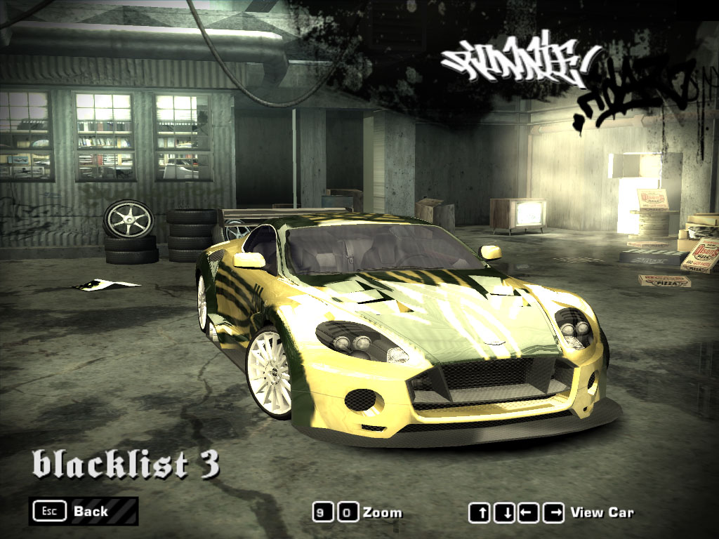 NFS Most Wanted: Blacklist in NFS Most Wanted